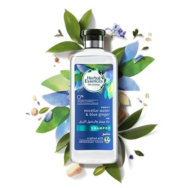P&G  Herbal Essences - Micellar Water and Blue Ginger Shampoo 1