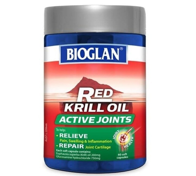 Bioglan  Red Krill Oil Active Joints 1