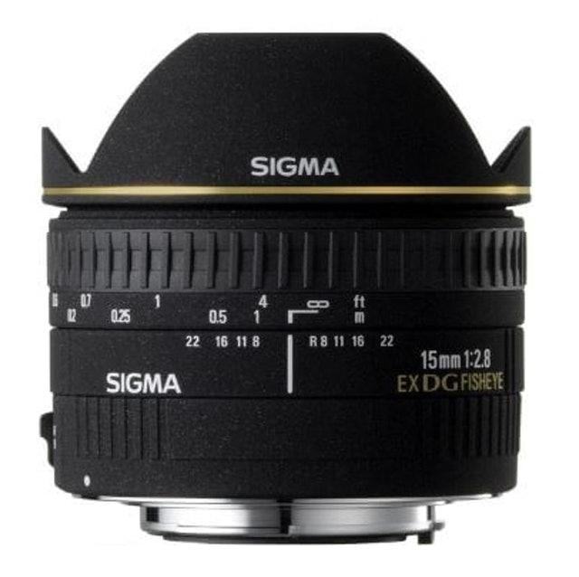 Sigma 15mm F2.8 EX DG Diagonal Fisheye 1
