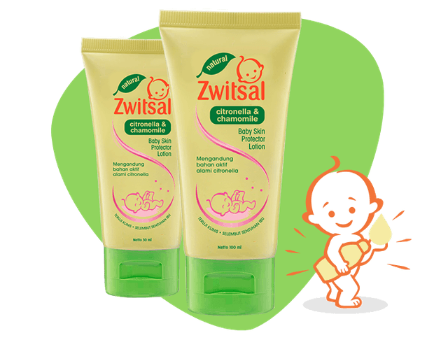 Unilever Zwitsal Baby Skin Protector Lotion Natural 1