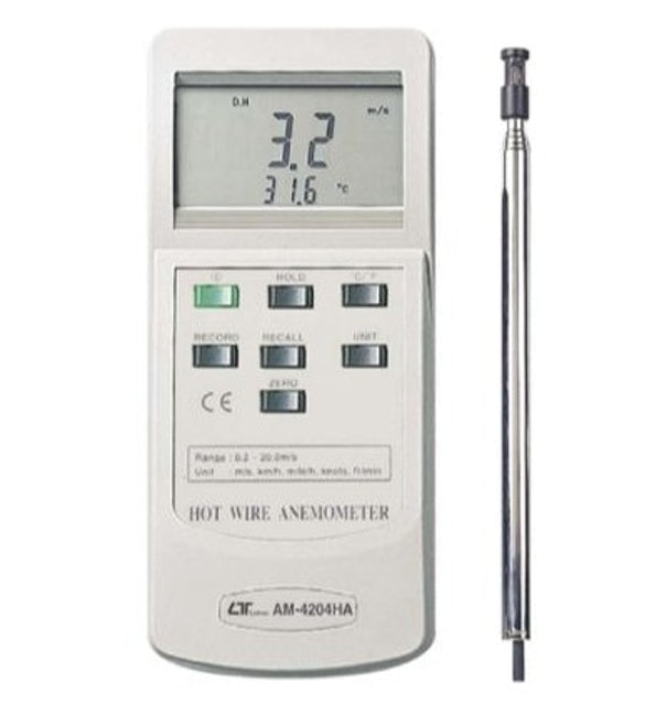 Lutron HOT WIRE ANEMOMETER 1