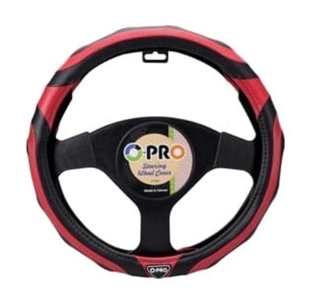 O-PRO Sporty Steering Wheel Cover 1