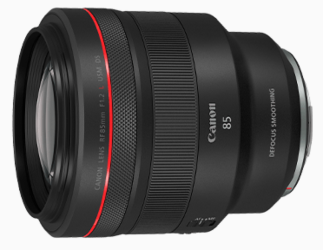 Canon RF85mm f/1.2L USM DS 1