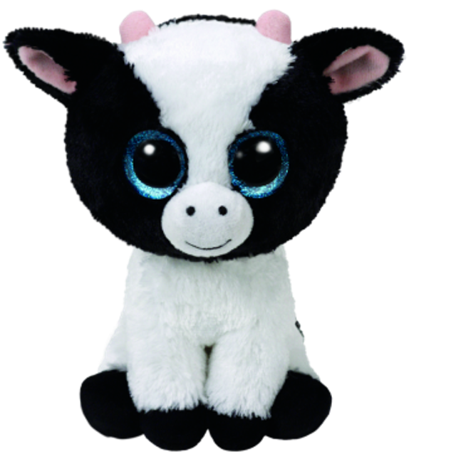 Ty Beanie Boos Butter the White Cow (regular) 1