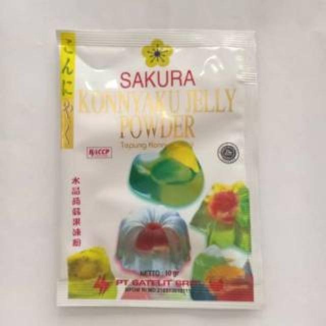 Sakura Konnyaku Jelly Powder 1