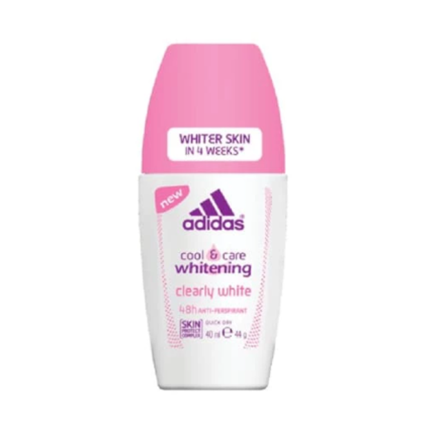 Adidas Cool & Care Whitening Clearly White Roll On For Women 1