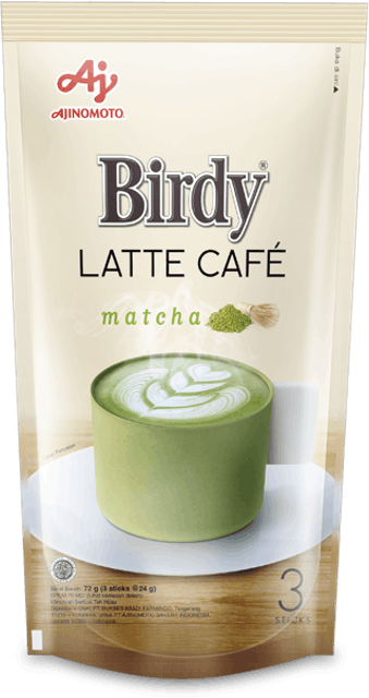 Ajinomoto Birdy Latte Cafe - Matcha 1
