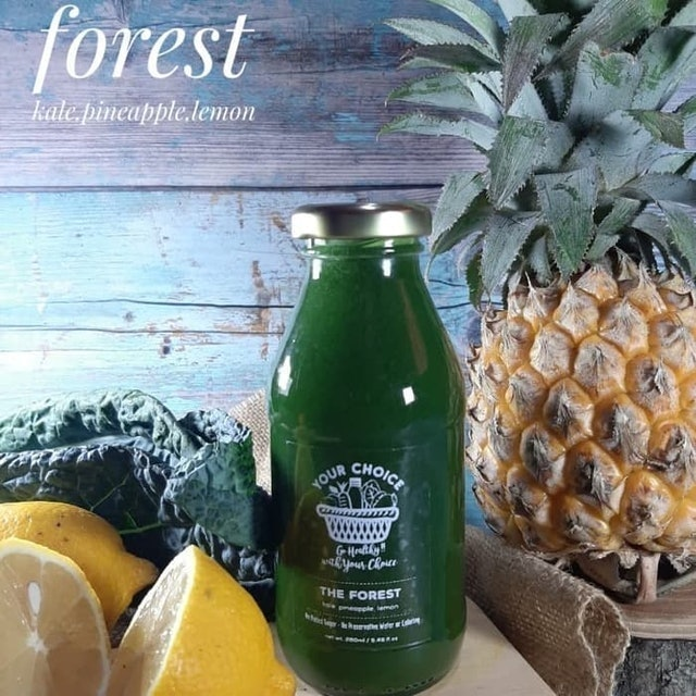 Your Choice The Forest Cold Pressed Juice 1