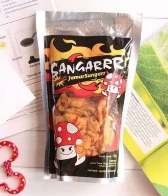 Sangarrr Snack JANGARRR (Jamur Sangarrr) 1