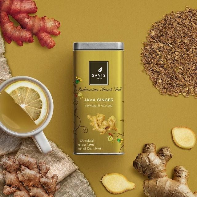 Savis Tea Java Ginger 1