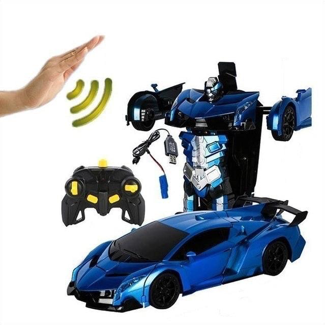 Gesture Deformation Transformer Remote Control Car 1:14 1