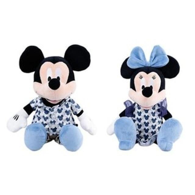 IKAT Indonesia Mickey & Minnie Ethnic Plush Toy 1