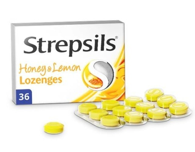 Strepsils  Honey & Lemon Lozenges 1