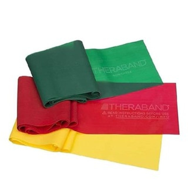 TheraBand Professional Non-Latex Resistance Bands 1