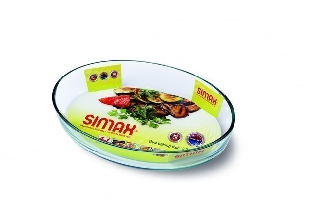 Simax Oval Baking Dish 1