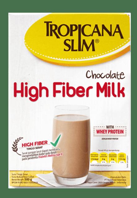 Tropicana Slim Susu High Fiber Chocolate 1