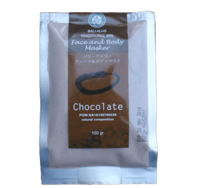 Bali Alus Traditional Spa Face and Body Masker Chocolate 1