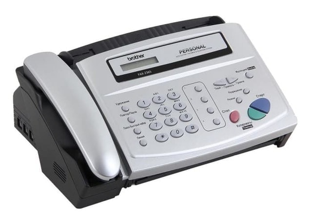 Brother FAX-236S Fax Machine 1