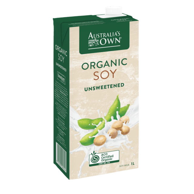 Freedom Foods Australia's Own Organic Unsweetened Soy Milk 1