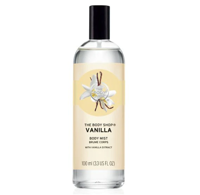 The Body Shop Vanilla Body Mist 1