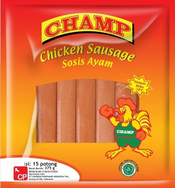 CP Foods Champ Chicken Sausages 1
