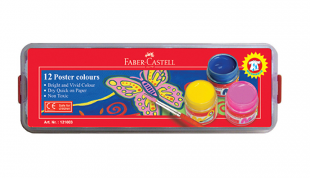 Faber Castell Poster Colours 12 1
