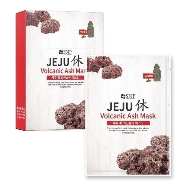 SNP Jeju Rest Volcanic Ash Mask 1