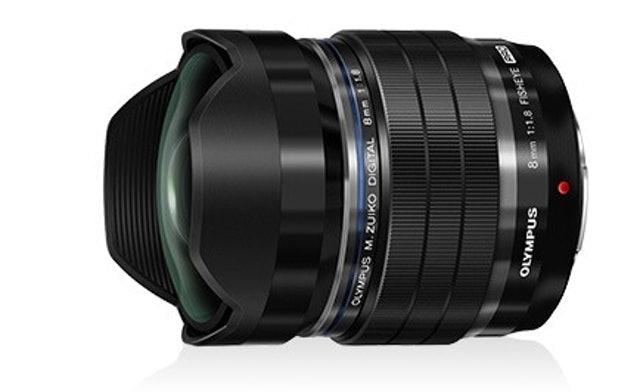Olympus M.Zuiko Digital ED 8mm f/1.8 Fisheye PRO /16mm (35mm equivalent) 1