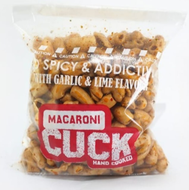 Cuck Macaroni Hand Made With Garlic & Lime Flavour 1
