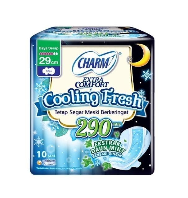Unicharm CHARM Cooling Fresh Wing 29 cm 1