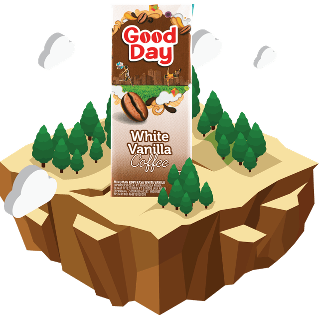 Good Day White Vanilla Coffee 1