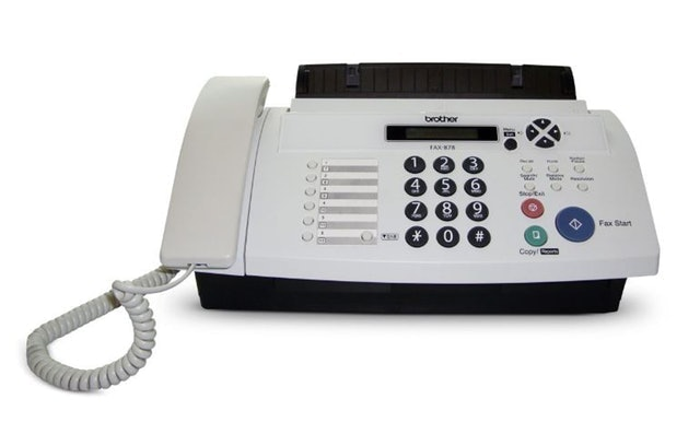 Brother FAX-878 Fax Machine 1