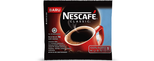 Nestle Indonesia Nescafe Classic Sachet 1