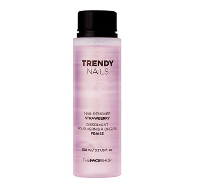 The Face Shop  Trendy Nail Remover Strawberry 1