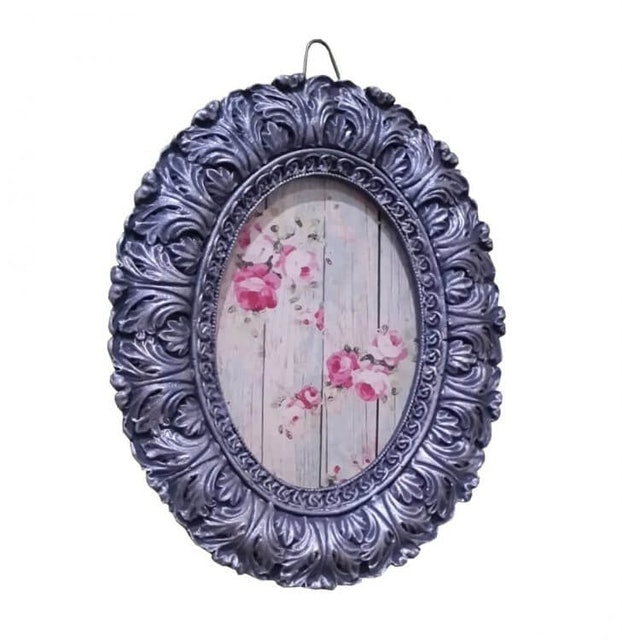 Tilavie Resin Round Photo Frame 1