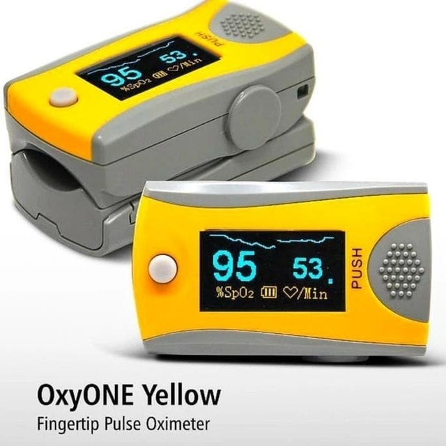 Onemed Fingertip Pulse Oximeter OxyONE Yellow 1