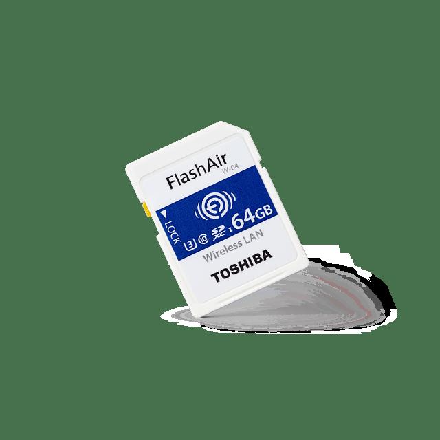 Toshiba Wireless SD Card FlashAir W-04 1