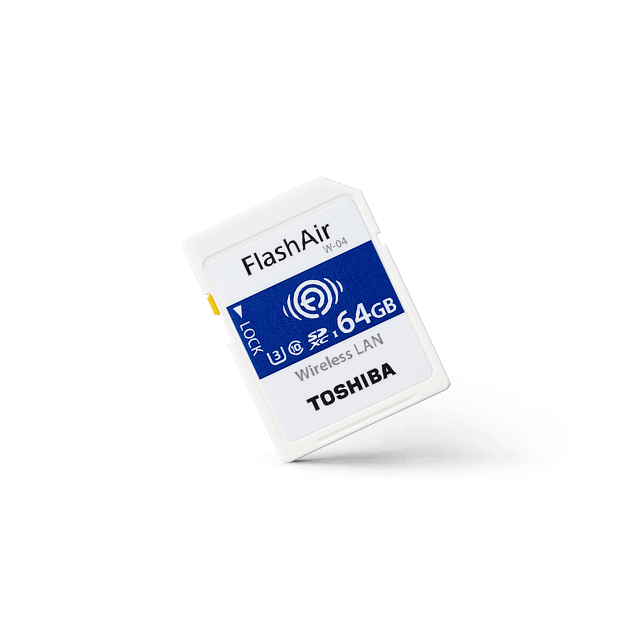 Toshiba Wireless SD Card FlashAir W-04 1