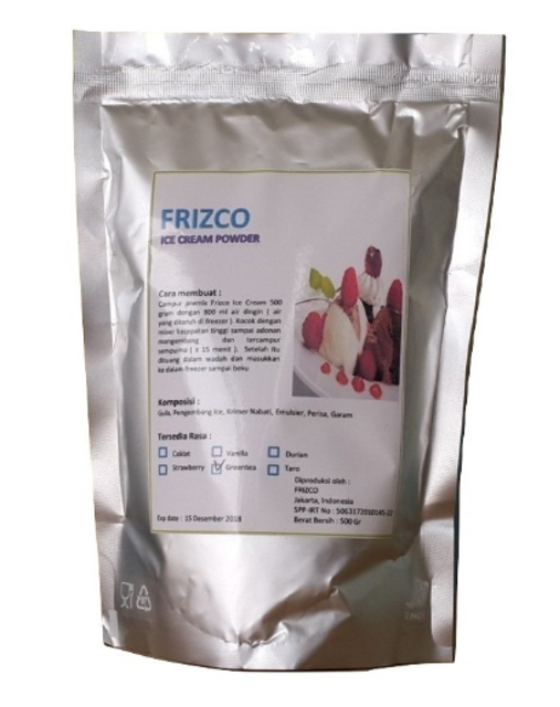 Frizco Ice Cream Powder 1