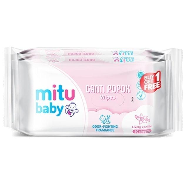 Godrej Mitu Baby Ganti Popok Lively Vanilla 1