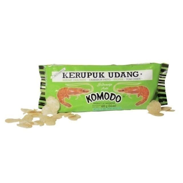 Komodo Foods Komodo Hijau Mini Shrimp Crackers 1