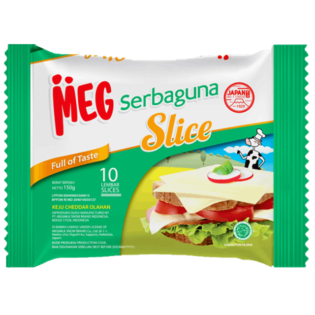 MEG Cheese MEG Serbaguna Slice 1
