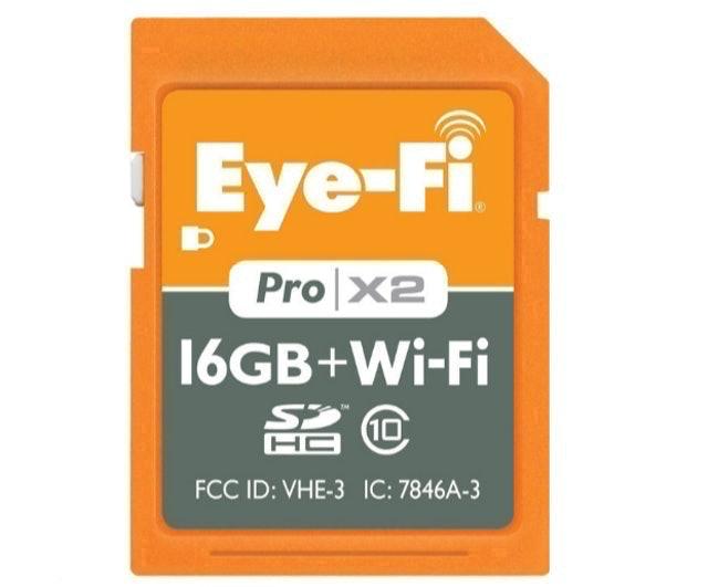 Eye-Fi Pro X2 Wireless SDHC Card Class 10 1