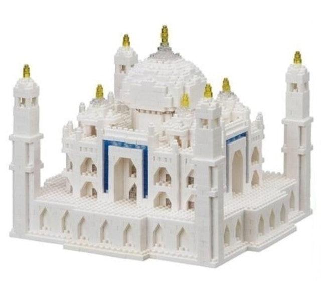 Nanoblock Taj Mahal Deluxe Edition 1