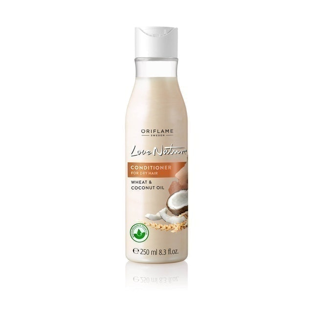 Oriflame Love Nature Conditioner for Dry Hair Wheat & Coconut Oil 1