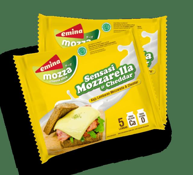 Emina Cheese Emina Cheese Slice Mozza 1