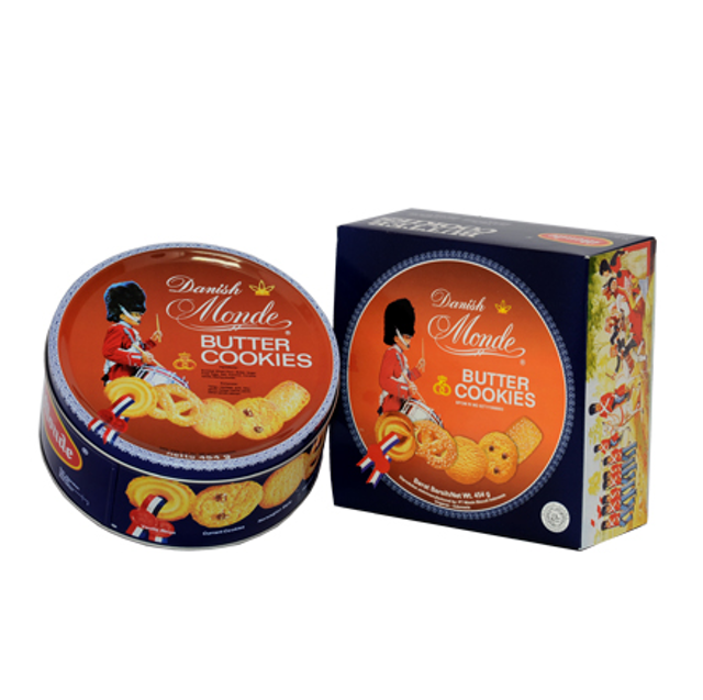 Nissin Biscuit Indonesia  Monde Butter Cookies  1