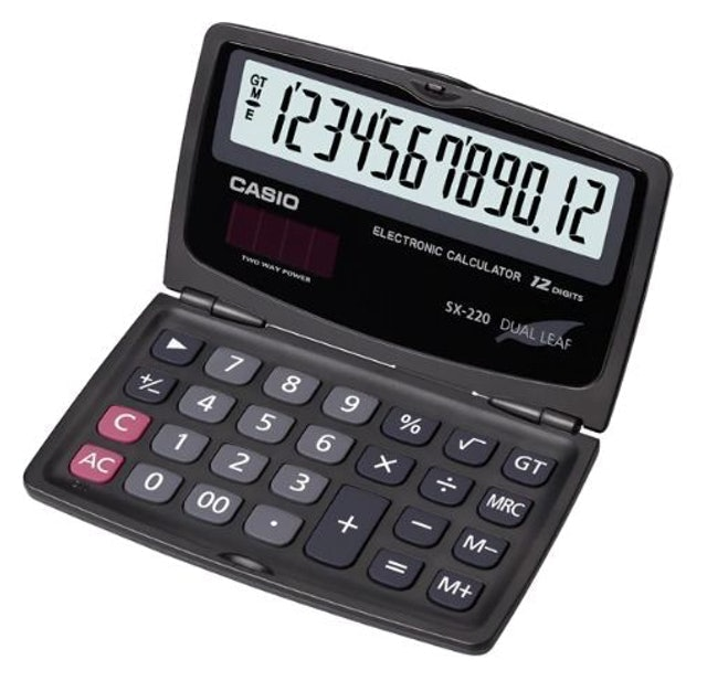 CASIO Kalkulator 1