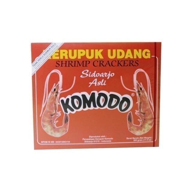 Komodo Foods Komodo Merah Shrimp Crackers SPP/GK 1