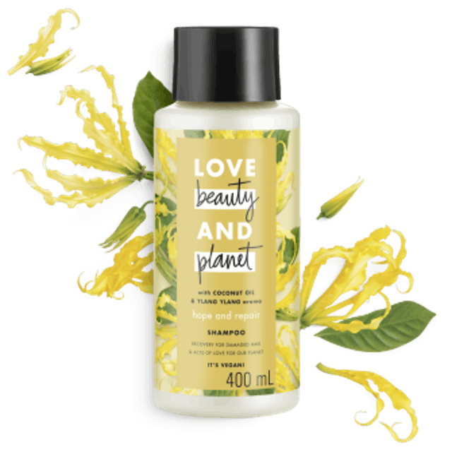 Unilever Love Beauty and Planet - Coconut Oil & Ylang Ylang Shampoo 1